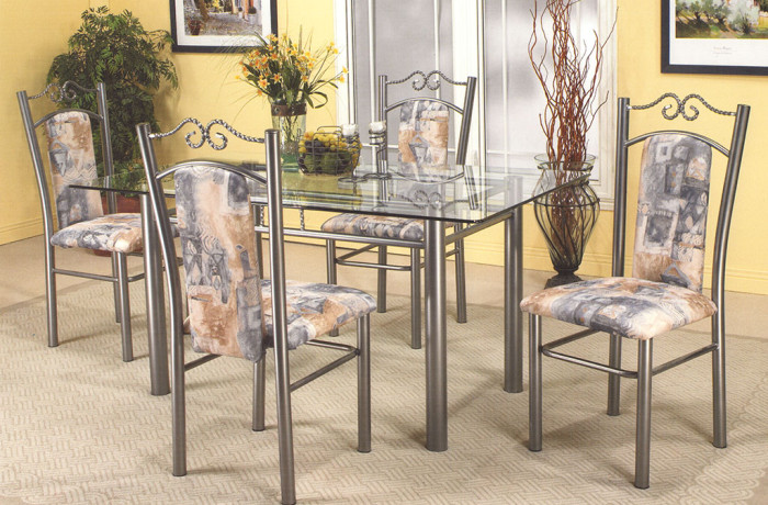 Table 5pc Gunmetal